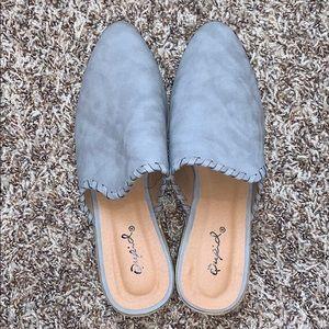 Qupid heeled women's sandals (size 6)
